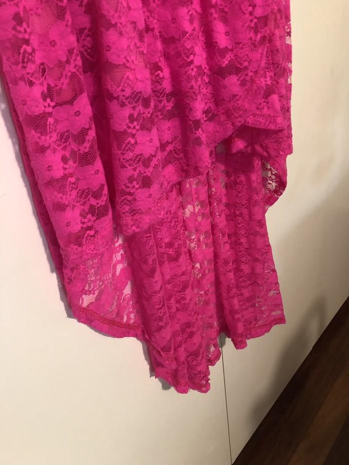 Όμορφο ροζ φόρεμα Candy Couture size L!!. Photo 2