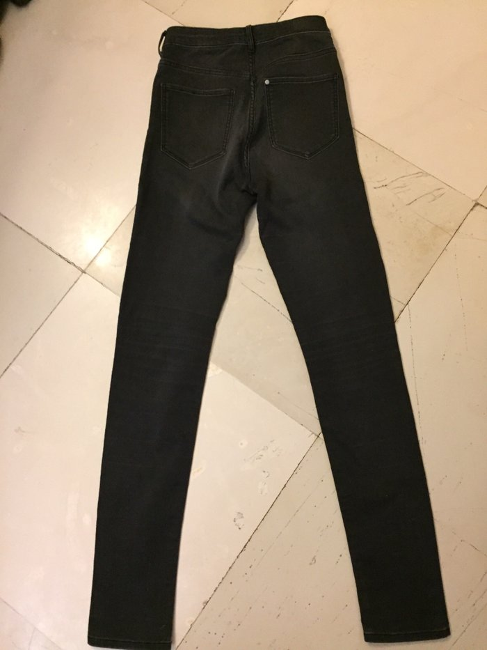 H&M Super skinny black jeans. Ολοκαίνουργιο . Νο 27 small . Photo 0