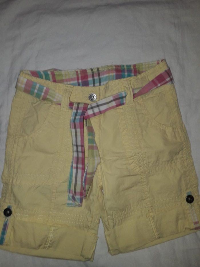 Pantalonice za devojcicu, vel 134, zute boje, bez ostecenja. - Krusevac