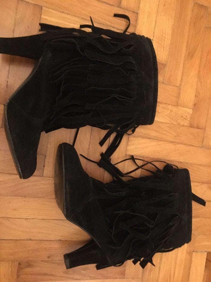 Čizme sa resama br 38. Photo 0