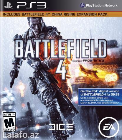 Bakı şəhərində Battlefield 4 (диск для ps3) полностью на русском языке.