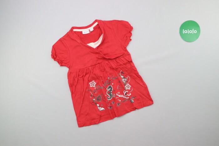 Дитяча футболка з принтом Berti, зріст 104 см    Довжина: 44 см Ширина: Дитяча футболка з принтом Berti, зріст 104 см    Довжина: 44 см Ширина