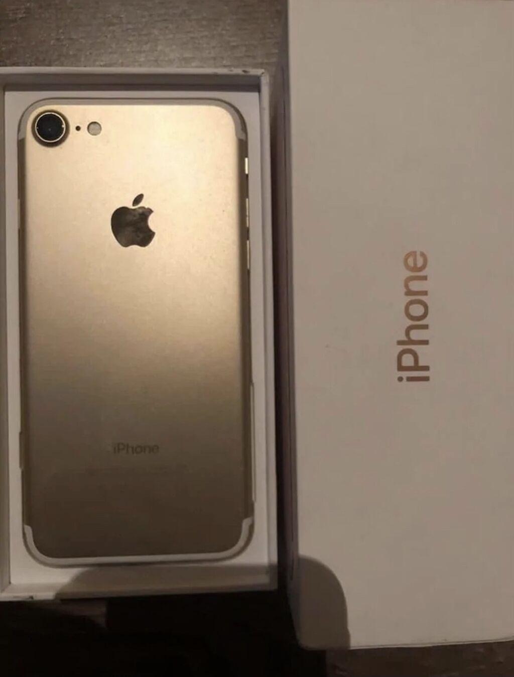 IPhone 7 | 32 GB | Qızılı | İşlənmiş: IPhone 7 | 32 GB | Qızılı | İşlənmiş