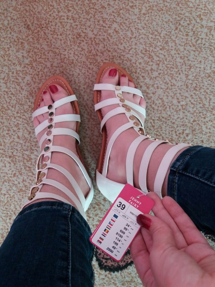 Sandale (nove, nenošene- ne odgovara broj). Photo 2