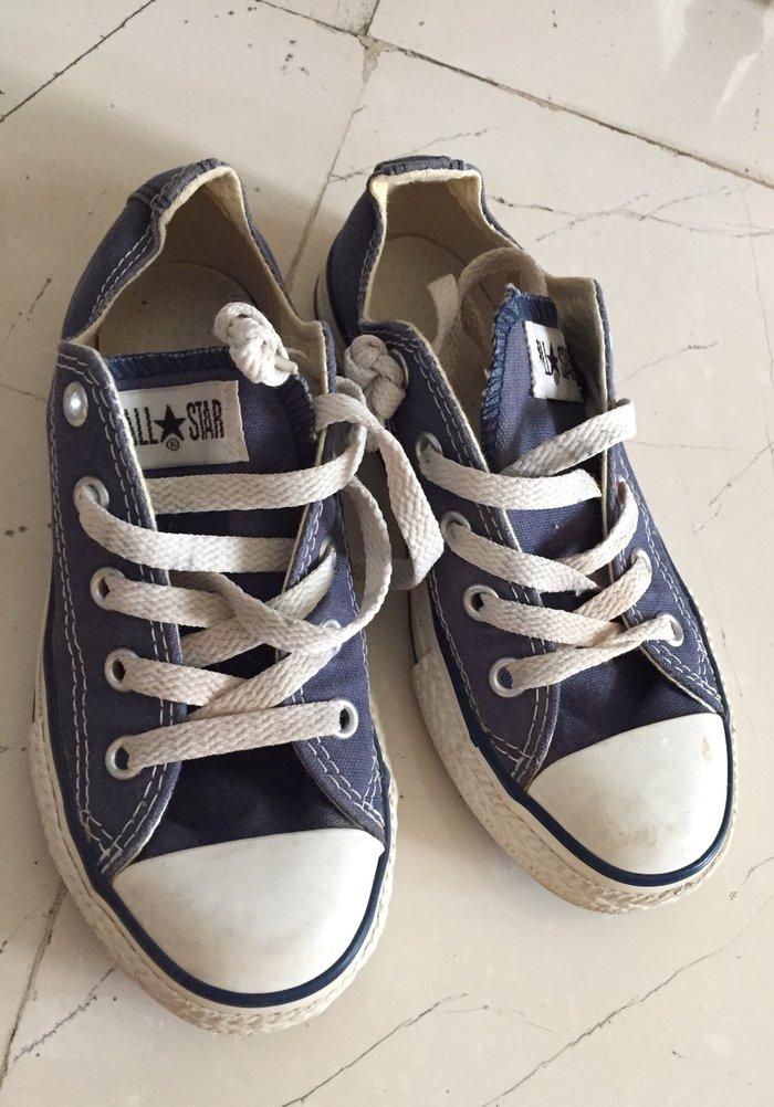 Παιδικά Converse All Star μπλέ Νο 30 . Ελάχισυα φορεμένα . Τινή 14€ σε Υπόλοιπο Αττικής
