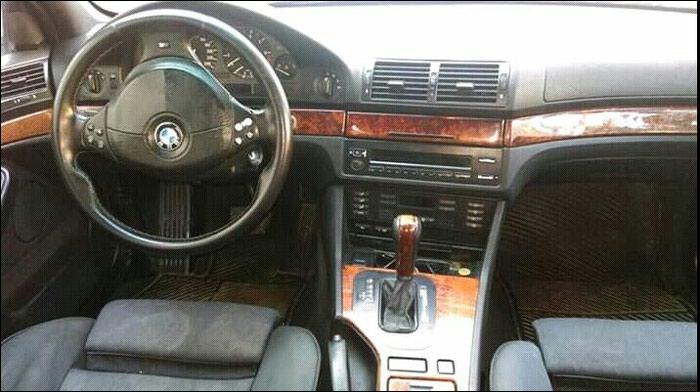 BMW 528 1997. Photo 6