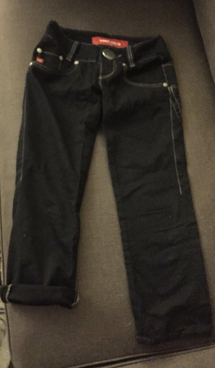 ΙΜαύρο jean capri , miss sixty . Νο 25 Αγορασμένο από τη Ρώμη 87€ . Αφ. Photo 0