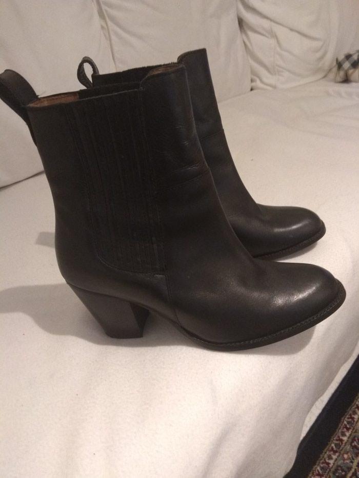 Δερμάτινες μπότες καινούριες νούμερο.. σε Περιφερειακή ενότητα Θεσσαλονίκης