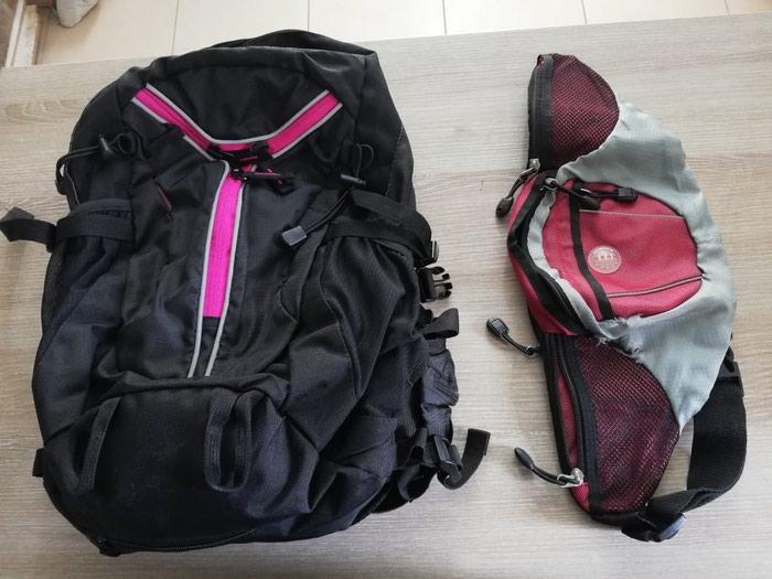 Τσάντα πλάτης καινούρια μαζί με τσαντάκι μέσης!. Photo 0