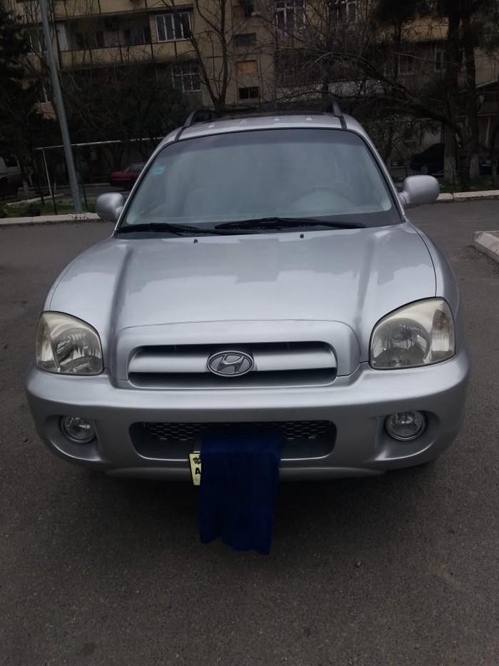 Bakı şəhərində Hyundai Santa Fe 2005