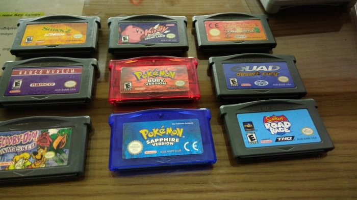 9 games gia game boy advance σε Αθήνα