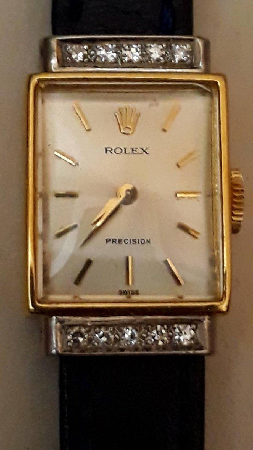 Золотистые Женские Наручные часы Rolex