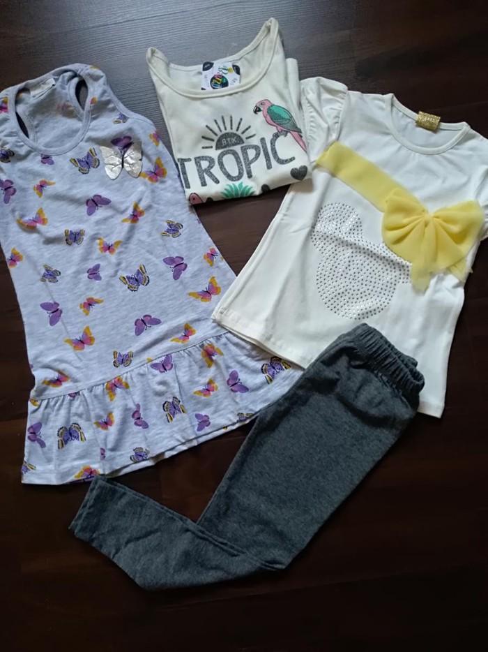 Komplet nove garderobe za devojčicu