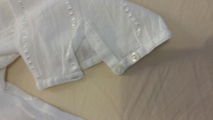 Μπλουζάκι αφόρετο,λευκό ,νούμερο 36. Photo 2