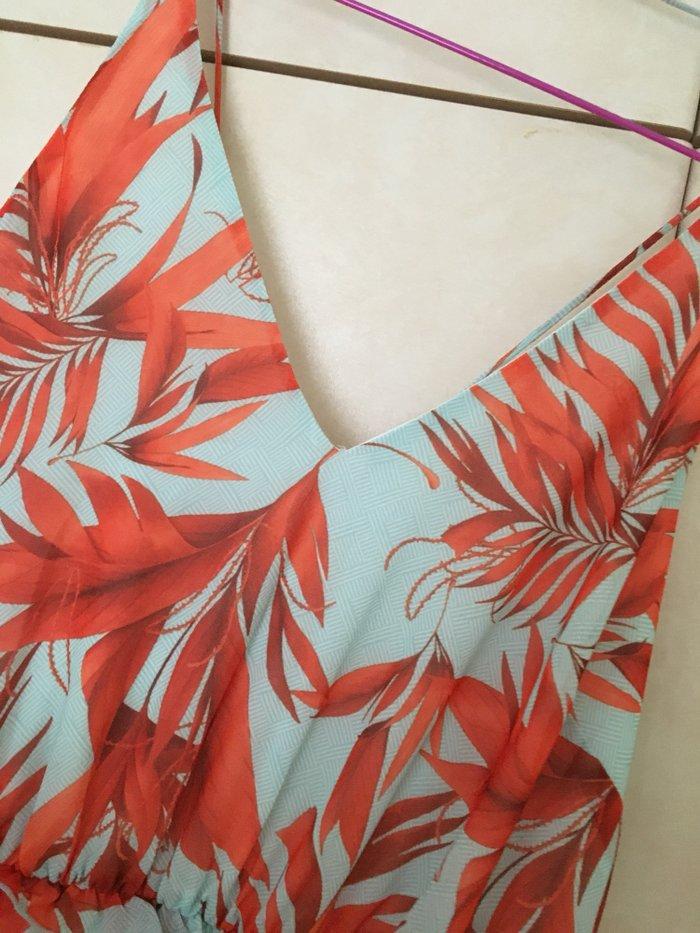 H&M μαξι φορεμα σε ανοιχτο βεραμαν με. Photo 3