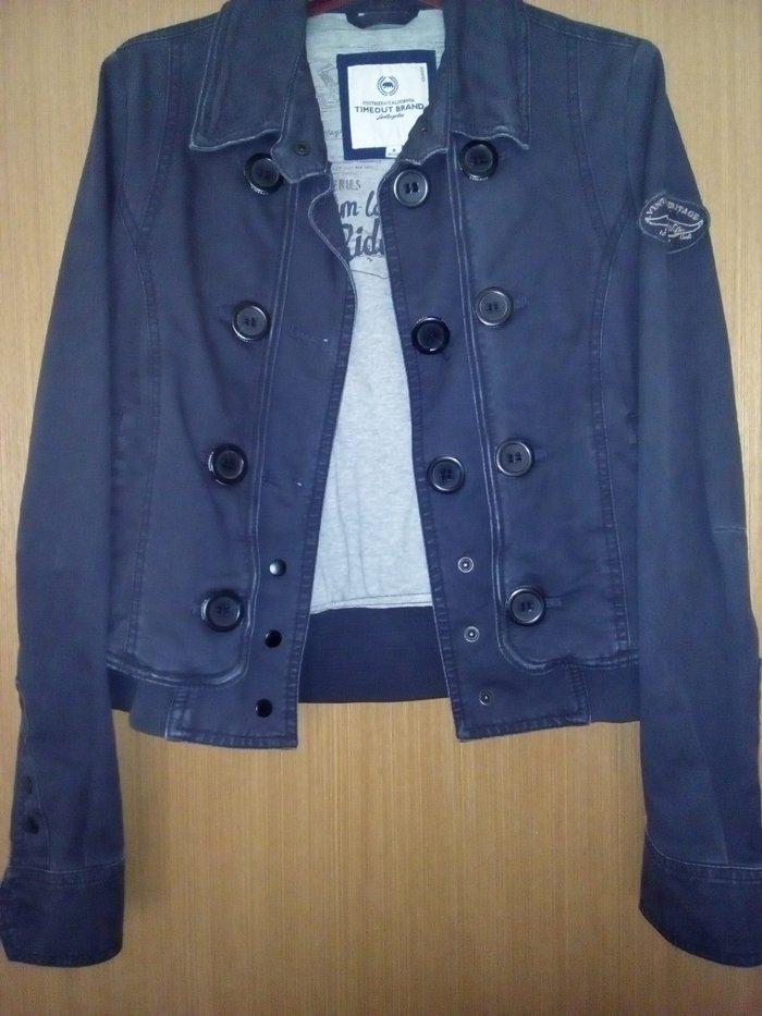 Zenska timeout teget jakna, velicina s, duzina jaknice je 56cm - Gornji Milanovac