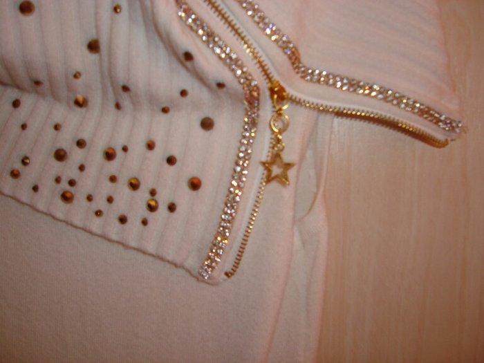 Μπλουζοφόρεμα κρεμ fe46066d691