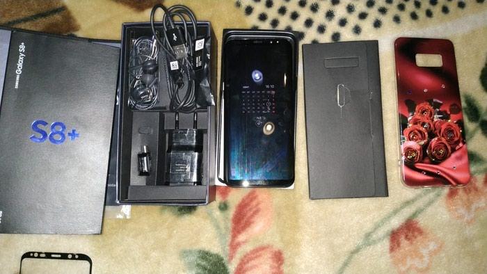 Новый телефон  galaxy S8+ 64 gb поддерживает 2 в Душанбе