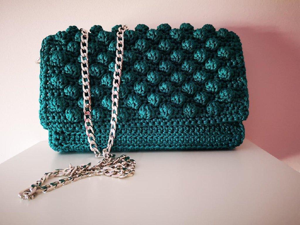 Καινούργια χειροποίητη τσάντα bubbles σε όλα τα χρώματα της επιλογής σας!