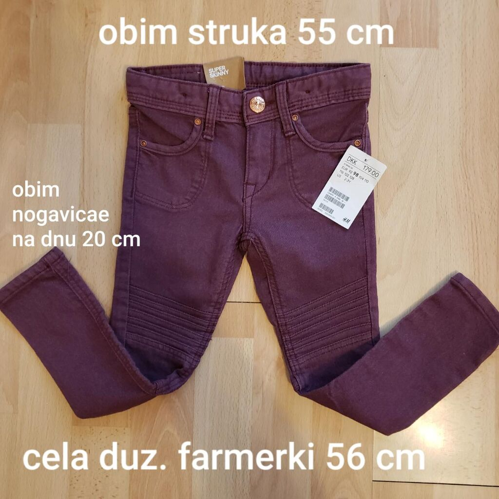 H & M Denim farmerkice vel 98