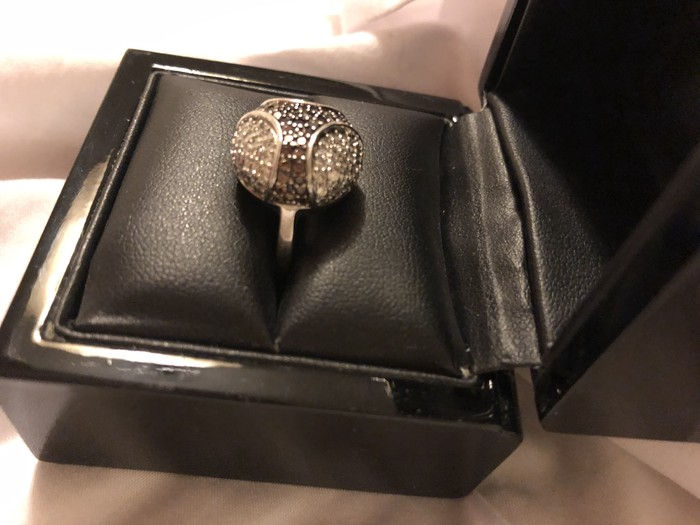 Όμορφο ασημένιο δαχτυλίδι 925 προς πώληση !!. Photo 6