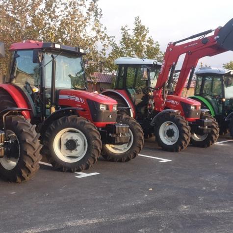 Saray şəhərində Karadas traktoru 100at gucu var