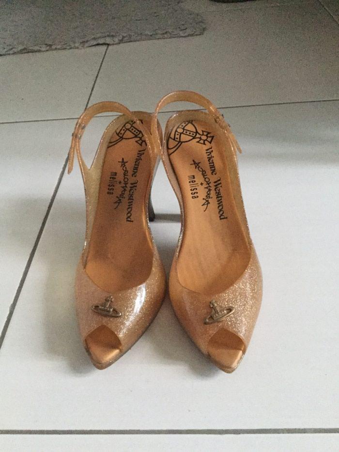 Vivienne Westwood / Melissa sandals 8cm used, size 40. Price: 15€. Photo 0