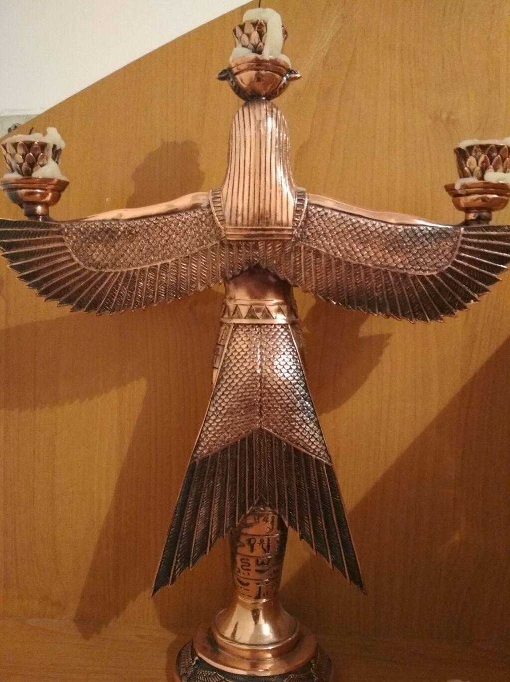 Продаю статуэтку ангела древнего Египта из чистой меди: Продаю статуэтку ангела древнего Египта из чистой меди