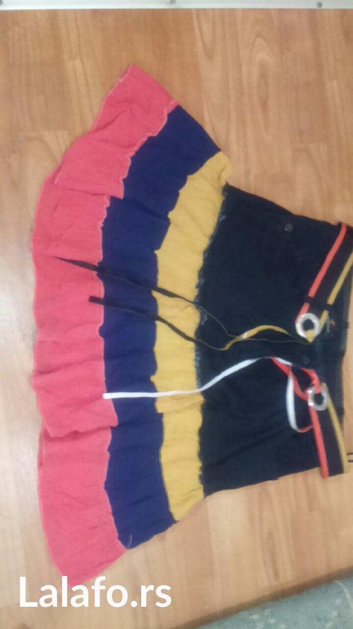 Suknjica retro jako zanimljivog dezena, velicina i marka na slici - Cuprija