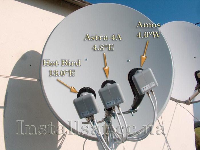 Установка и настройка спутниковых антенн . Photo 0