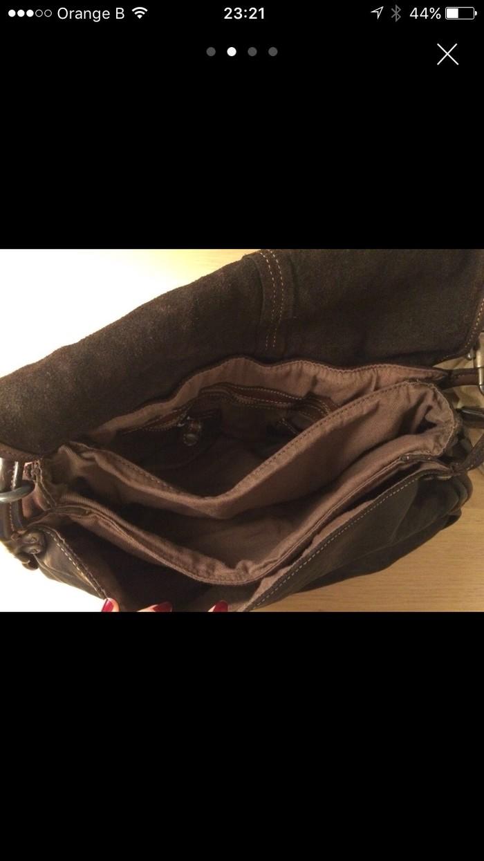 Δερμάτινη καφέ τσάντα Campomaggi, ολοκαίνουρια. Photo 2