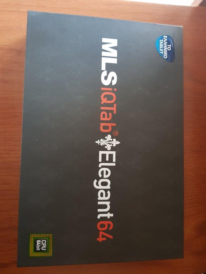 Tablets - Δυτική Θεσσαλονίκη: Tablet mls iqtab elegant 64, καινούριο, δεν είναι ανοιγμένη η συσκευασία, μαύρο χρώμα,   ίντσες, κάμερα 3