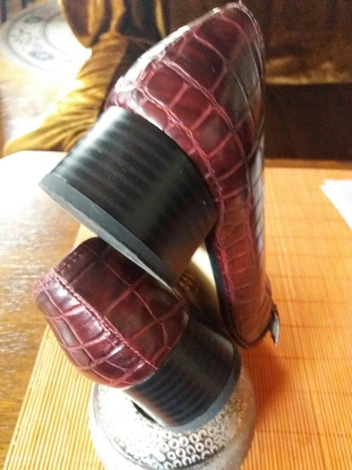 Cipele od extra kože italijanske samo jednom obuvene br.37. Photo 4