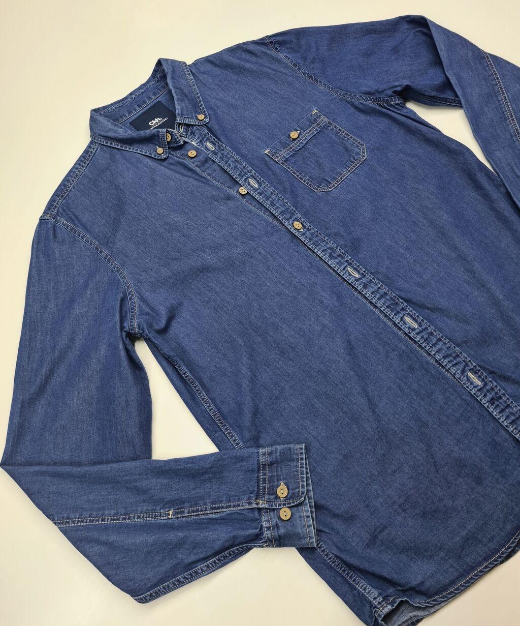 Рубашка джинсы -20%: Рубашка джинсы -20%