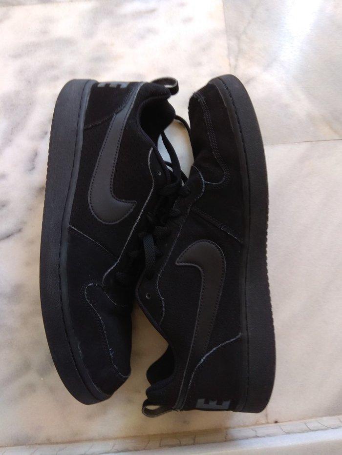 Nike  μαύρα παπούτσια ανδρικά σε άριστη. Photo 0