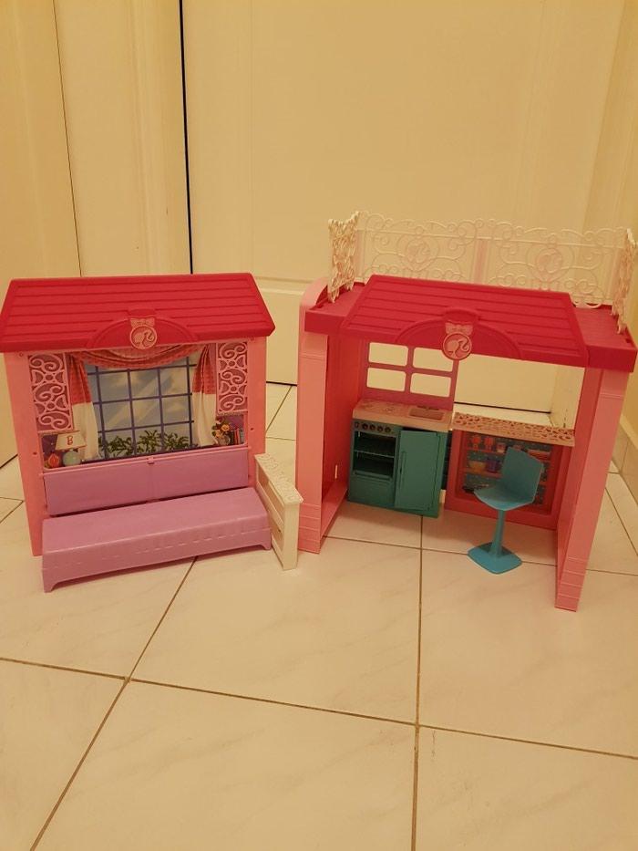 Κουκλοσπιτο Barbie.ΔΩΡΕΑΝ ΜΕΤΑΦΟΡΙΚΑ!!. Photo 1