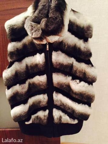 Sumqayıt şəhərində Original shinshila jiletka geyinilmeyib