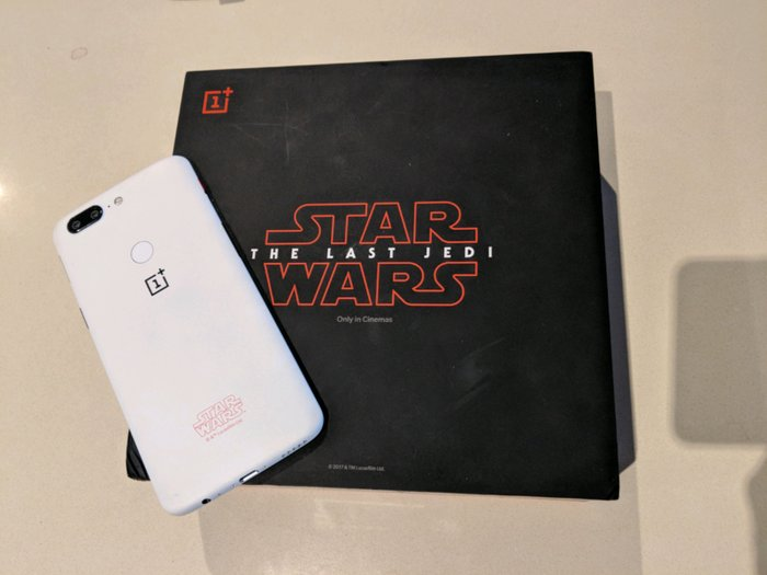 NEW-ONEPLUS-5T-A5010-128GB-DUAL-SIM-STAR-WARS-WHITE-FACTORY-UNLOCKED-4 in Kirtipur