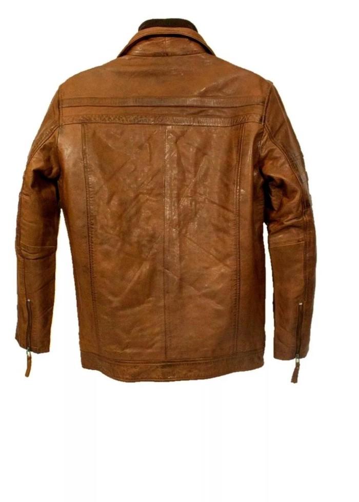 Leather jacket. Photo 1