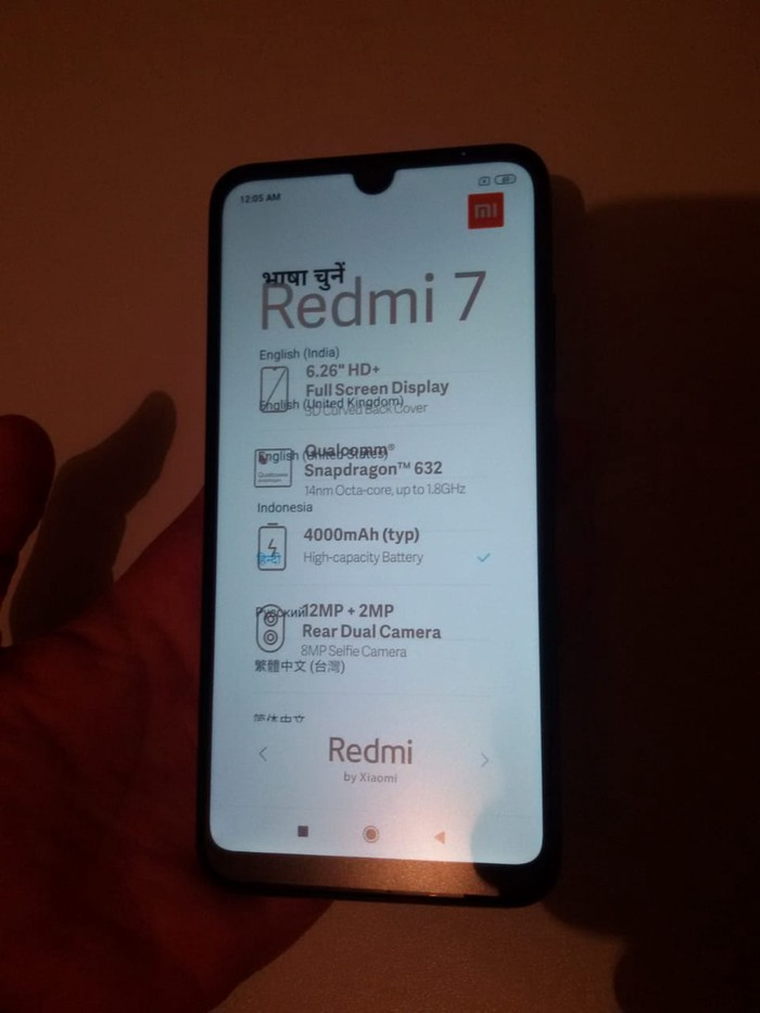 Yeni Xiaomi Redmi 7 32 GB qara. Photo 0