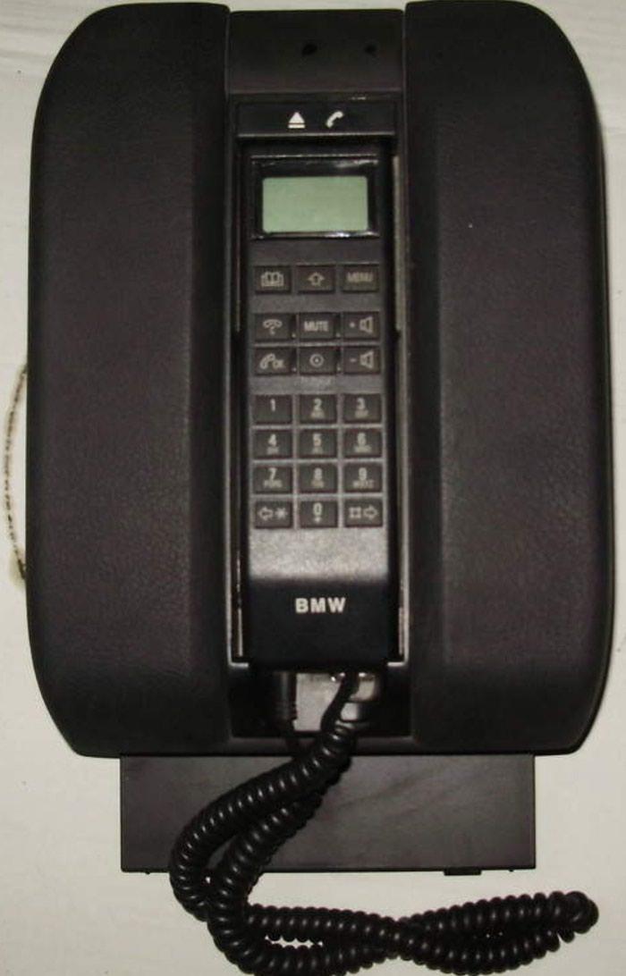 БМВ Е39-Е38 оригинал телефон салона.. Photo 0