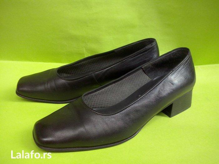 Poslovne kožne cipele broj 40,samo 2 puta obuvene. - Beograd