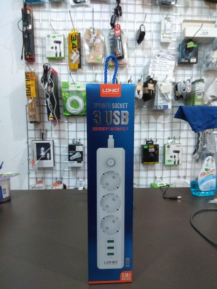 Bakı şəhərində Model: LDNIO SE3330Çox keyfiyyətli udilniteldir. 3 USB port və 3 ele