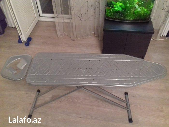"""Bakı şəhərində """"Deveçioğlu"""" firmasının ütü masası.Uzunluğu - 112 sm;Eni - 34 sm."""