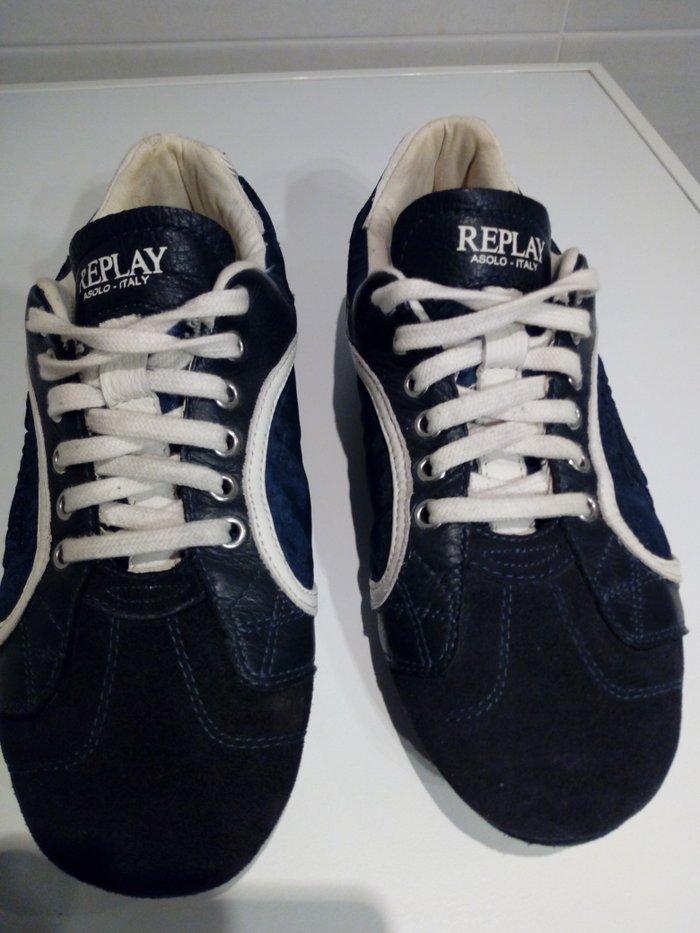 Νεα τιμη!!!! παπουτσια replay αυθεντικα νο41 σε αριστη κατασταση,δυο-τρεις φορες φορεμενα δινονται λογω μικρου νουμερου