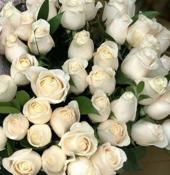 Белые розы, время свадеб 😍😍😍😍 в Бишкек