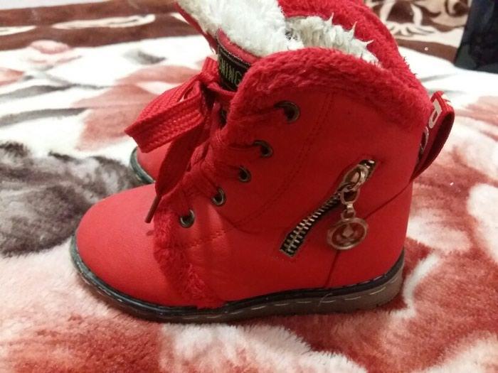 aa933a9e4 Ботинки осень - зима (почти не носили, по стельке 15см) за 650 KGS в ...