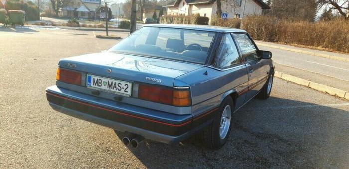 Mazda 929 1987. Photo 2