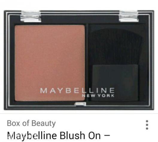 Maybelline,rumenilo sa cetkicom - Kraljevo