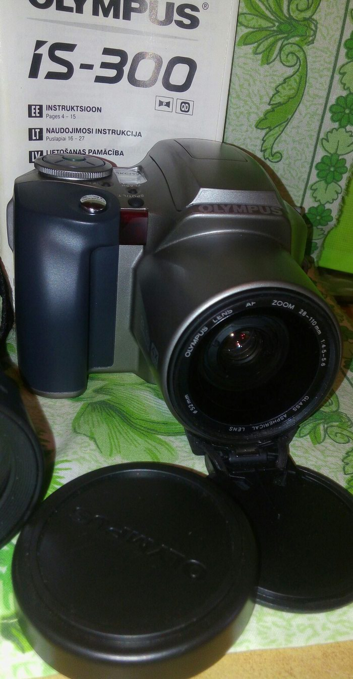 Olympus is 300+obyektiv fotoapparat satılır təzədir.28-110 mm. Photo 5